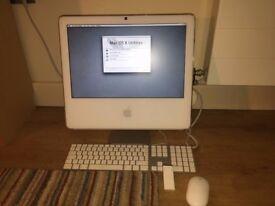 Late 2006 Apple iMac, with keyboard, wireless Mighty Mouse and remote. £60 O.N.O
