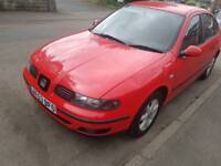 SEAT TOLEDO 16SERVICE STAMPS 12MONTH MOT CHEAPEST  BARGIAN CAR