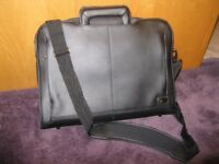 Dell executive leather laptop bag