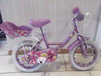 """Girls 14"""" Apollo Sweetpea Bike"""