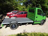 Custom built pick up truck.