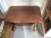 Small Vintage Table, Ornate legs.