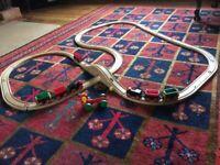 Brio trains and track