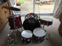 Student Pro Drum Drums kit job lot