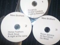 Marx Brothers 3 DVDS ( 9 classic comedy films).