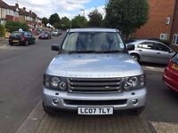 Land Rover Range Rover Sport 2007 - 1yr MOT-1 Owner From New - Low Mileage -Full Service History