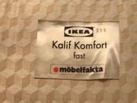 Ikea 3/4 mattress in very good condition no soiling or rips/tears can deliver local