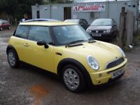 MINI ONE 2003 53 1.6 LTR PETROL 1 YEAR FRESH MOT WARRANTIED CLEAN CAR!!!