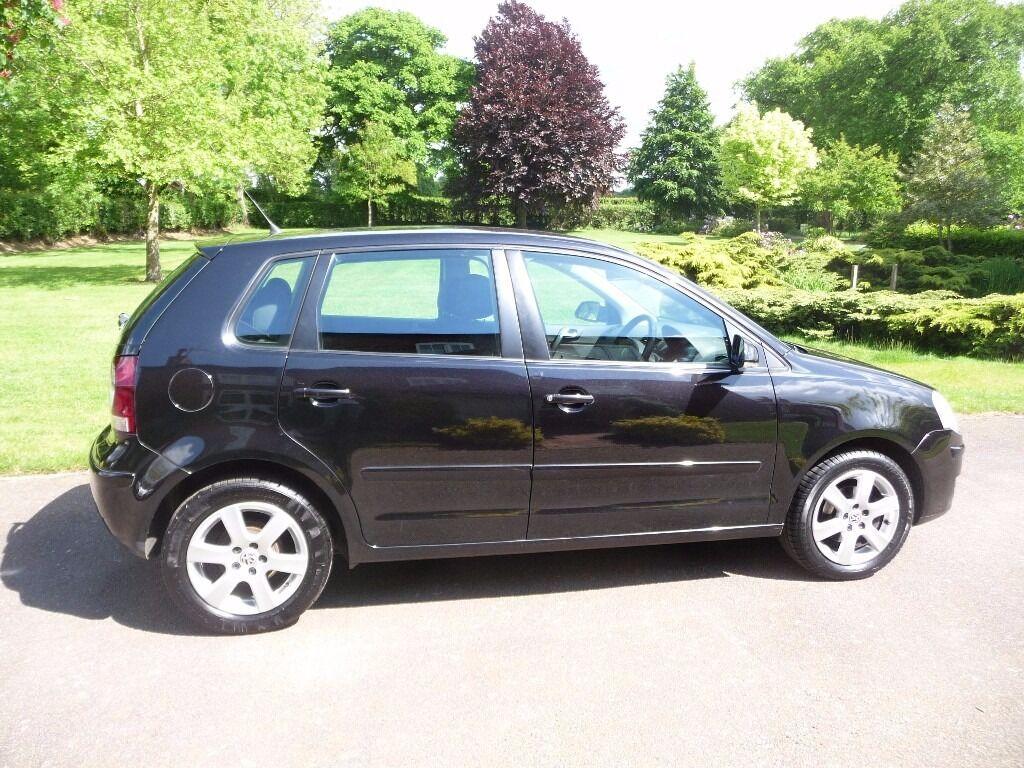 VW Polo Match 1.2 -Low Miles - Low Insurance- FSH- Long MOT - Petrol - Black - Great First Car