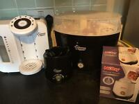 Perfect prep, bottle warmers and electric steriliser