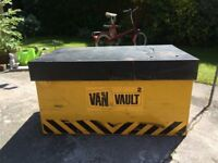 VAN VAULT 2 LARGE TOOL STORAGE BOX PLENTY OF SPACE CLEAN CONDITION