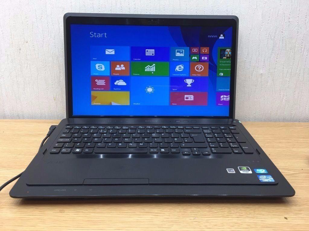 Sony Vaio Laptop Pcg 81312m Screen 16 4 Quot Intel Core I7