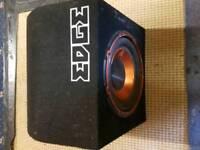 Edge base box built in amp