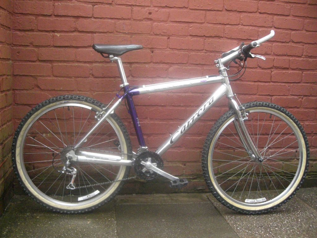 Retro Carrera Gravity Mountain Bike 18 Inch Frame In