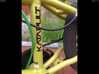Green bmx bike with 360 turn (frame size pro)