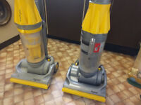 Rarely used Dyson DC07 vacuum cleaners hoovers - price each