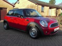 MINI ONE 1.4 3DR RED FSH,1YRS MOT,CLICK ON VIDEO LINK TO SEE MORE DETAILS