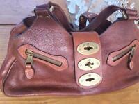 Genuine brown mulberry bag