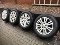 """LANDROVER DISCOVERY 4 WHEELS WITH WINTER TYRES 19"""""""
