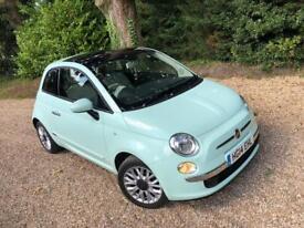 2014 Fiat 500 Lounge Mint Green lovely Car