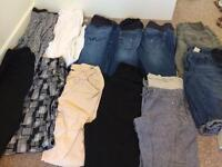 12 pairs maternity Trousers 10/12 mostly next