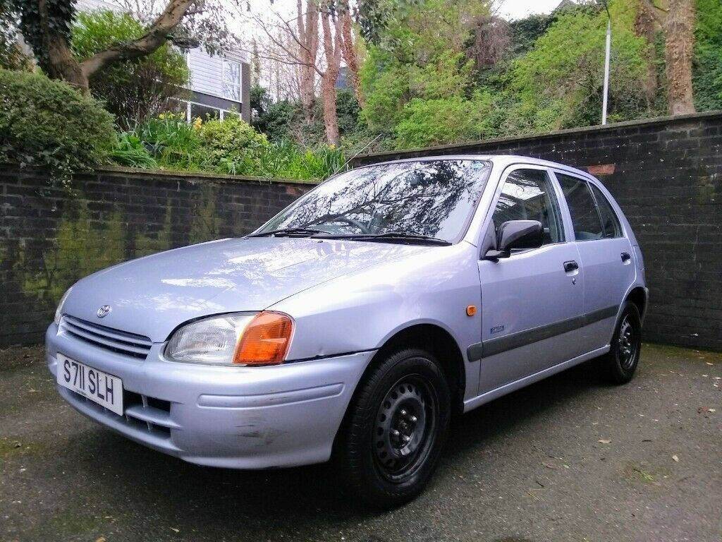 Toyota Starlet 'Solida Edition' for sale, Recent MOT, Low Mileage, Ideal  First Car | in Sutton, London | Gumtree
