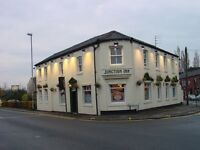 Live-in joint management couple required to run Junction Inn, Rochdale Road, Royton, Oldham OL2 5RA