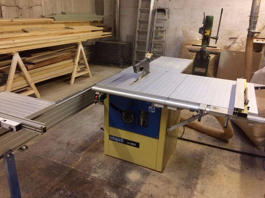 scheppach sliding table saw ts4010 in shipston on stour warwickshire gumtree. Black Bedroom Furniture Sets. Home Design Ideas