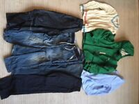 7-9 Years Kids Boys Bundle Clothes, Winter Jackets, Jumpers, Jeans, waterproof Trousers, Shirt,