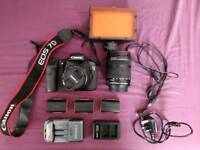 Selling a Canon 7D with 2 lens and accessories!!!
