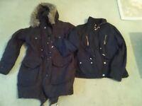 Two ladies winter coats