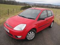 Ford Fiesta 1.4 GHIA 5 Door ~ Years MOT ~ REVERSE PARK ~ S/HISTORY ~ HEATED SCREENS ~ ALLOYS ~ FOGS