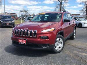 2017 Jeep Cherokee SPORT**HEATED SEATS**REMOTE START**BLUETOOTH*