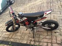 125cc demon x pitbike