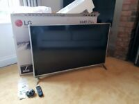 LG 49 Inch SMART 4K Ultra HD HDR LED TV - Immaculate - As new condition
