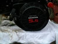 Honda 5.5, GX 160 engine