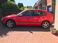 "ONLY 65K "" SEAT LEON 1.8 SE FULL SERVICE HISTORY T/ BELT DONE 5 DOORS IMMACULATE CONDITION"
