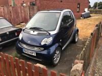Smart for 2 soft top auto convertible cabriolet not spares or repair