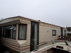 3 bedroom static caravan for sale £1,500