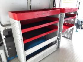 Bott van racking unit