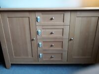 Lovely chunky wooden sideboard