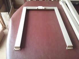 Caravan door blackout blind. Size is 390x540. Other blinds available