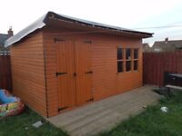 *** 16FT BY 10FT SUMMER HOUSE ****