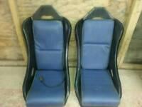 fibreglass bucket seats