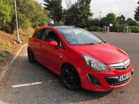 Limited edition 2011 Vauxhall corsa 51000 miles