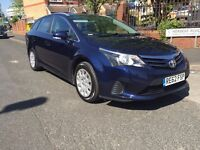 2012 (62) TOYOTA AVENSIS ESTATE 1.8 T2 5dr FULL TOYOTA HISTORY 11 STAMPS 1 OWNER FROM NEW
