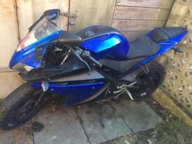 Yamaha r125 2013