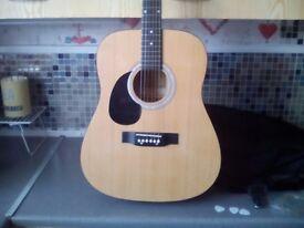 Left handed martin smith acoustic guitar £45 cash