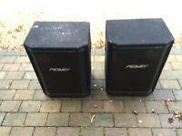 Peavey Hisys 2XT- 700 W Speakers- DJ speakers- BAND PA system