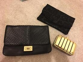 Armani Exchange clutch bag + 2 others included for free!!